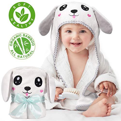 Kaome Baby Handtuch Kapuze Bio-Bambus Badetuch...