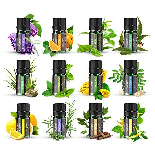 Ätherische Öle Set ANJOU Aromatherapie Duftöl...