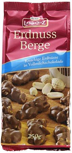 Lambertz Erdnussberge Vollmilch, 12er Pack (12 x...