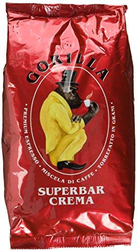 Joerges Espresso Gorilla Super Bar Crema, 1er Pack...