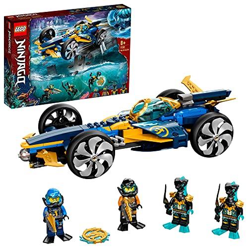 LEGO 71752 NINJAGO Ninja-Unterwasserspeeder,...