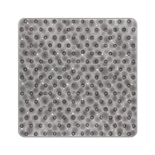 BliGli Rutschfeste quadratische Duschmatte für...