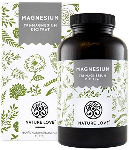 Premium Magnesiumcitrat 2250mg, davon 360mg...