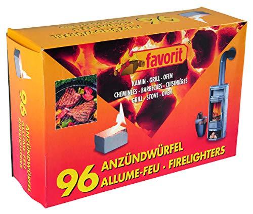 Favorit Anzündwürfel weiß, 96 Stück –...