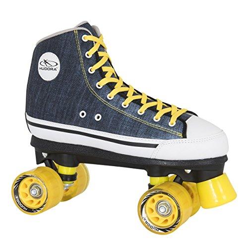 HUDORA Rollschuhe Roller-Skates Blue Denim,...