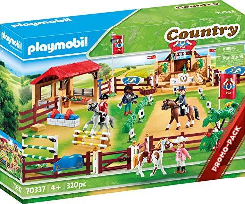 PLAYMOBIL Country 70337 Großer Reitturnierplatz,...