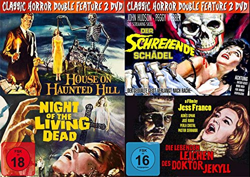 4 Horror Klassiker HOUSE ON HAUNTED HILL (Die 7...