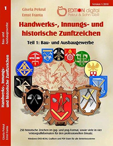 Handwerks-, Innungs- und historische Zunftzeichen,...
