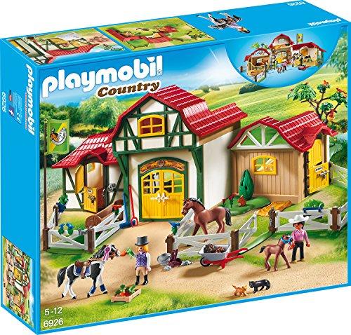PLAYMOBIL Country 6926 Großer Reiterhof mit...