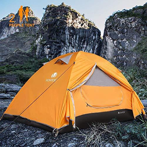 V VONTOX Camping Zelt, 2-3 Personen Wasserdichtes...
