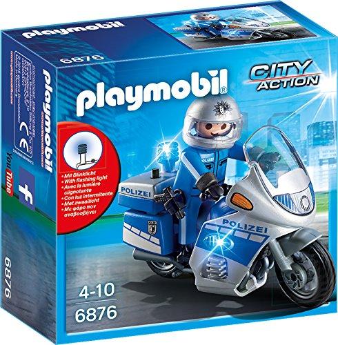 PLAYMOBIL City Action 6876 Motorradstreife mit...