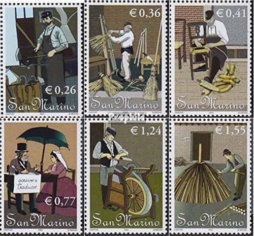 Prophila Collection San Marino 2038-2043...