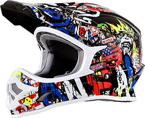 O'NEAL 3 Series Rancid Motocross Enduro MTB Helm...