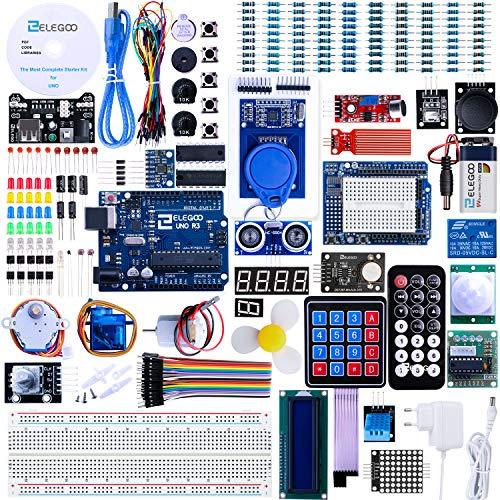 ELEGOO UNO R3 Ultimate Starter Kit, Kompatibel mit...