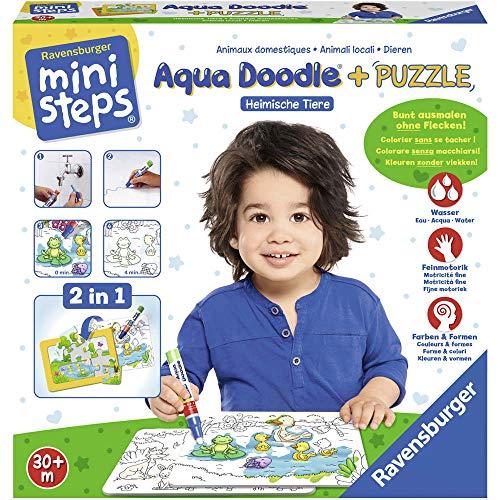 Ravensburger 04557 Aqua Doodle Puzzle: Heimische...