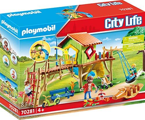Playmobil City Life 70281 Abenteuerspielplatz, ab...