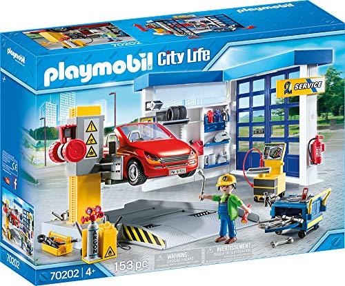 PLAYMOBIL City Life 70202 Autowerkstatt, Ab 4...