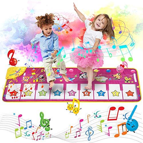 AOLUXLM Spielzeug Piano Matte Tanzmatte...