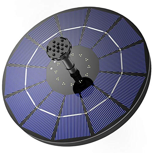 AISITIN Solar Springbrunnen mit 3.5W Solar Panel...