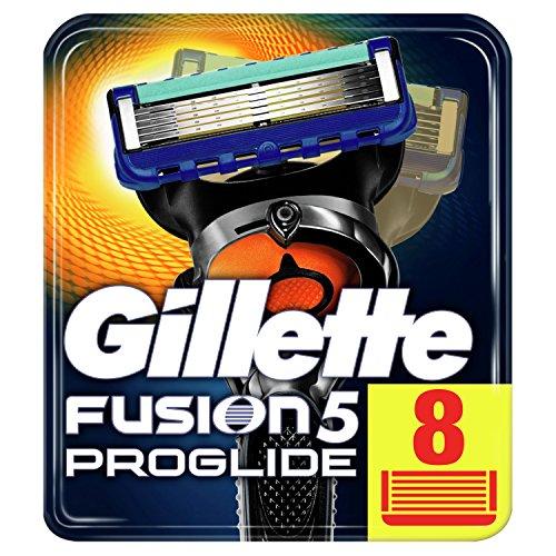 Gillette Fusion ProGlide Rasierklingen, 8 Stück,...
