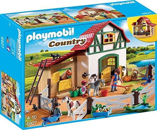 PLAYMOBIL Country 6927 Ponyhof mit vielen Tieren...