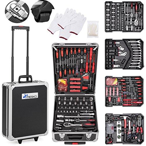 TRESKO® Werkzeugkoffer 949 teilig |...