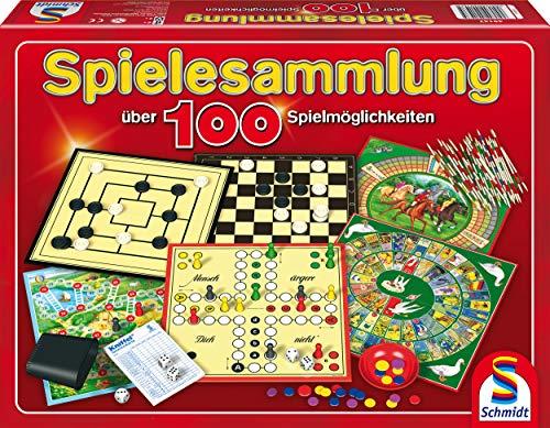 Schmidt Spiele 49147 - Spielesammlung, MIt 100...