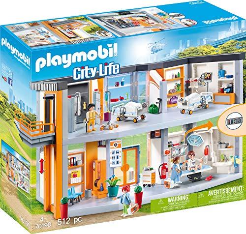 PLAYMOBIL City Life 70190 Großes Krankenhaus mit...