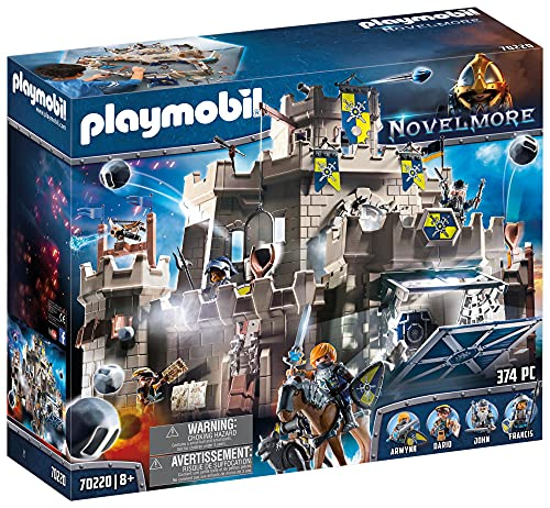 PLAYMOBIL Novelmore 70220 Große Burg von...