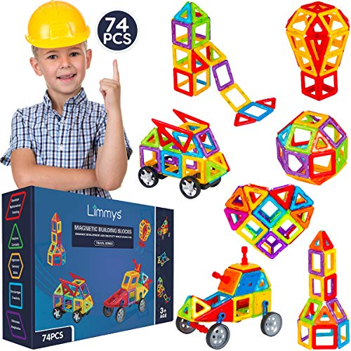 Limmys Magnetische Bausteine – Magnetspielzeug...